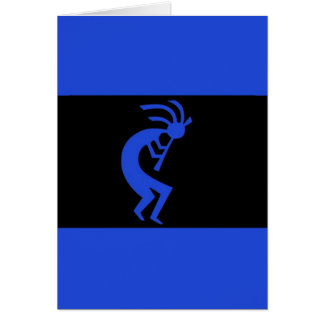 Kokopelli long Blue Card