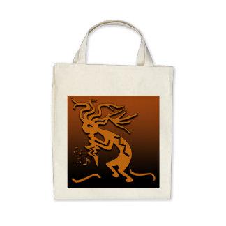 Kokopelli Musician Canvas Bags
