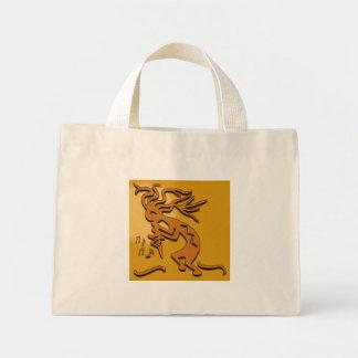 Kokopelli Musician Canvas Bag