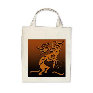 Kokopelli Musician Tote Bags