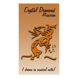 Kokopelli Musician Business Card Templates