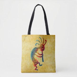 KOKOPELLI musician ornaments + your ideas Tote Bag