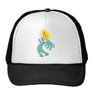 Kokopelli Native American Fire Eater Cap