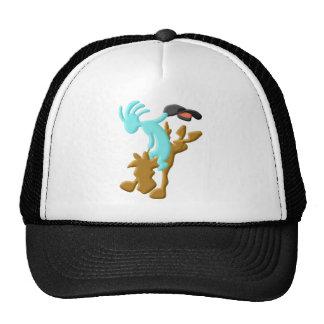 Kokopelli Native American Rodeo Hats