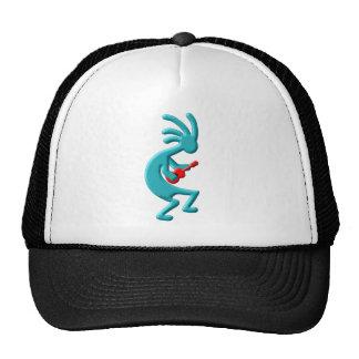 Kokopelli Native American Ukulele Cap