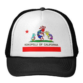 Kokopelli of California music Hats