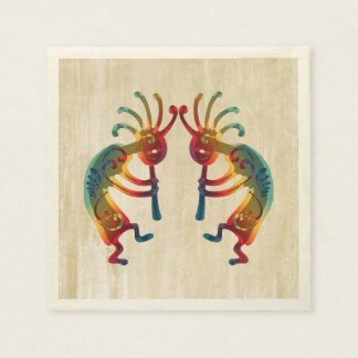 KOKOPELLI ornaments + your ideas Disposable Napkins