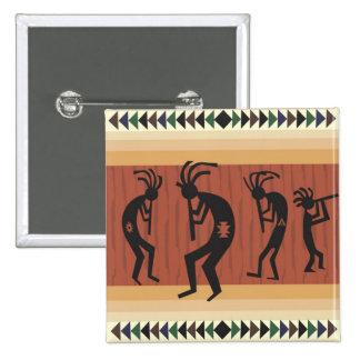 Kokopelli Pinback Buttons