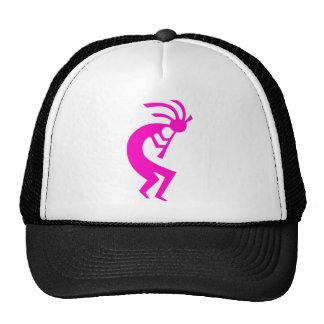 Kokopelli Pink Mesh Hats