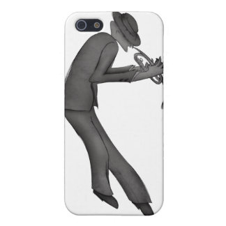 Kokopelli Plays the Blues art Case For iPhone 5/5S
