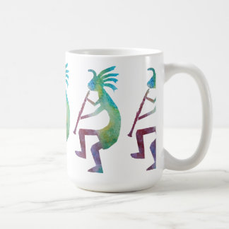 Kokopelli Plays the Clarinet Coffee Mug