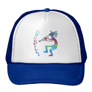 Kokopelli Plays The Trumpet Cap