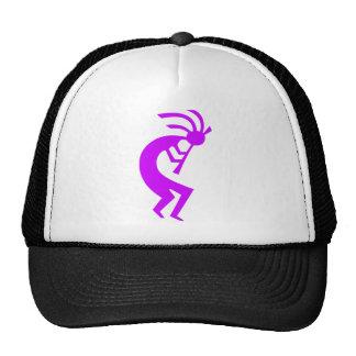 Kokopelli Purple Trucker Hat