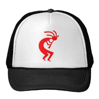 Kokopelli Red Mesh Hat