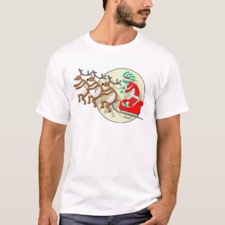 Kokopelli Santa Clause T-Shirt