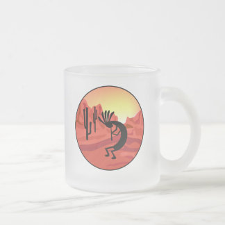 Kokopelli Southwest Sunset Mugs