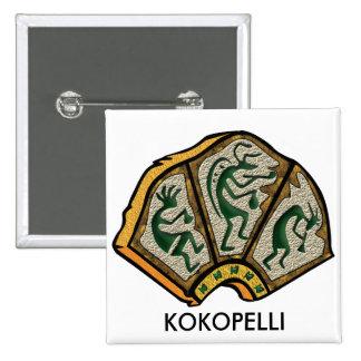 Kokopelli Stone Pins