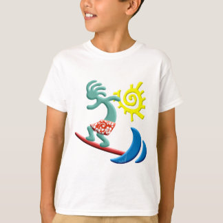 Kokopelli Surfing T-Shirt