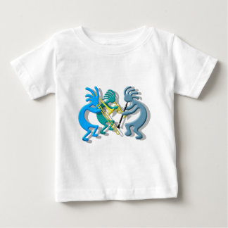 Kokopelli Trio Baby T-Shirt