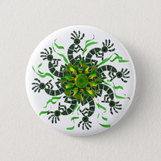Kokopelli Wheel Button