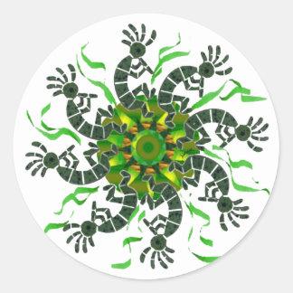 Kokopelli Wheel Sticker