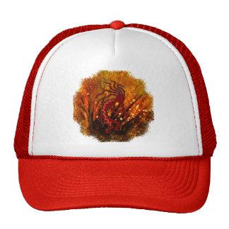 Kokopelli with Fireflies Hat