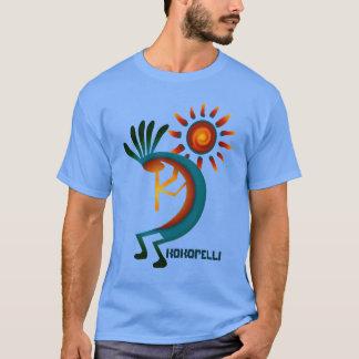 Kokopelli with Sun Blue T-shirt