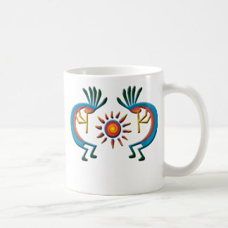Kokopelli with Sun Southwest Mug