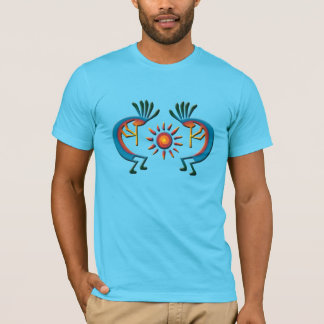 Kokopelli with Sun Southwest Tee Shirt