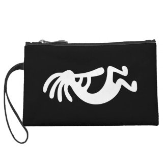 Kokopelli Wristlet Purse