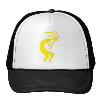 Kokopelli Yellow Cap