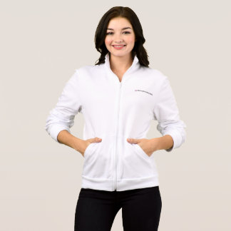 Kokoshungsan Women's Fleece Zip Jogger, White