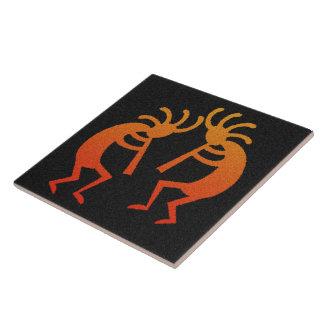 Kokpelli Southwest Design Tile