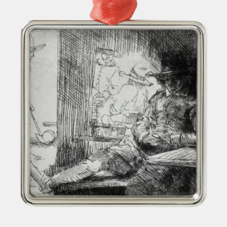 Kolf game, 1654 christmas ornament