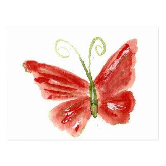 Kolleen's orange butterfly 3 post cards