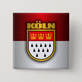 Koln (Cologne) 15 Cm Square Badge