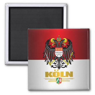Koln (Cologne) 2 Square Magnet