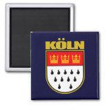 Koln (Cologne) Square Magnet
