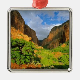 Kolob Canyon at Zion Canyon in Zion National Christmas Ornament