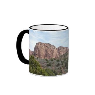 Kolob Canyons at Zion National Park Utah Ringer Mug
