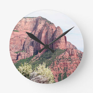 Kolob Canyons, Zion National Park, Utah, USA, 5 Round Clock