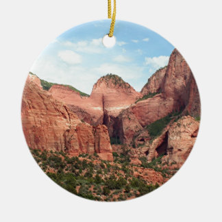 Kolob Canyons, Zion National Park, Utah, USA Christmas Ornament