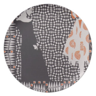 Koloman Moser- Early spring Party Plates
