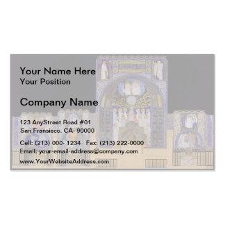 Koloman Moser- Holy Spirit Church in Düsseldorf Business Card Templates