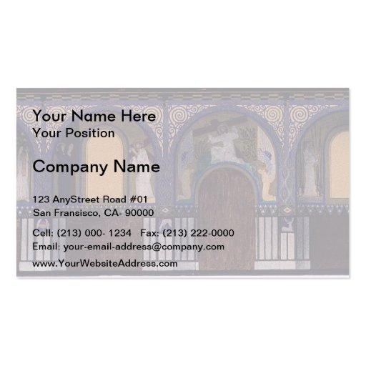 Koloman Moser- Holy Spirit Church in Düsseldorf Business Card Template