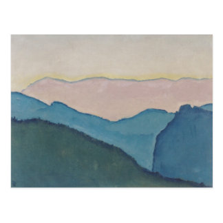 Koloman Moser- Mountain ranges Postcard