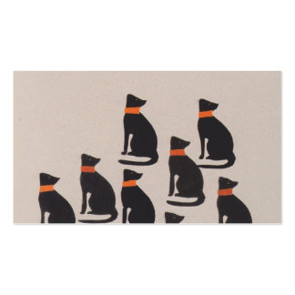 Koloman Moser-Picture book for the niece of Ditha Double-Sided Standard Business Cards (Pack Of 100)