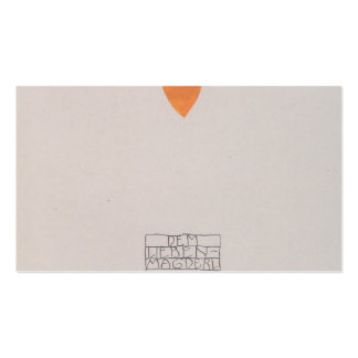 Koloman Moser-Picture book for the niece of Ditha Pack Of Standard Business Cards