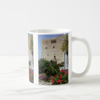 Kolossi Castle, near Limassol, Cyprus Basic White Mug
