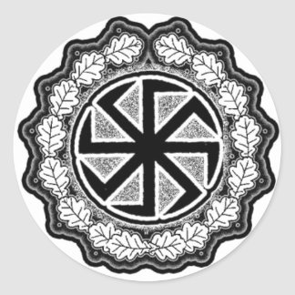 Kolovrat Classic Round Sticker